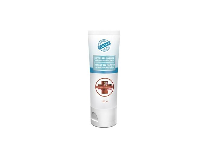 Cistici gel na ruce s antibakterialni slozkou Divoka tresen 100 ml