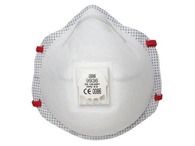 en149 9936 valved respirator