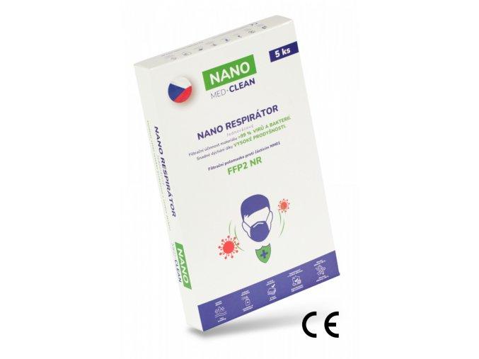5x FFP2 respirator NANO MEDCLEAN