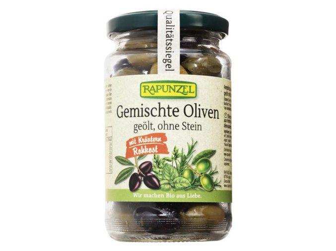 mix oliv s bylinkami