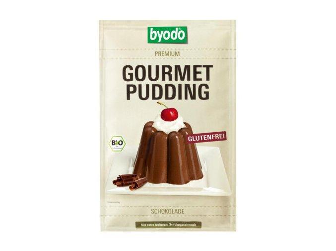 Puding cokoladovy gourmet byodo