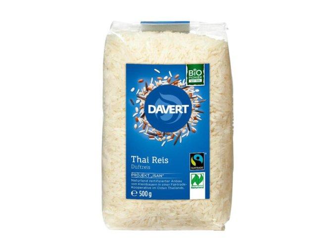 """BIO """"thajská"""" rýže dlouhozrnná Davert 500g"""