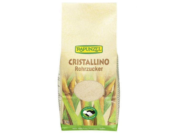 BIO třtinový kristalový cukr Cristallino 500g