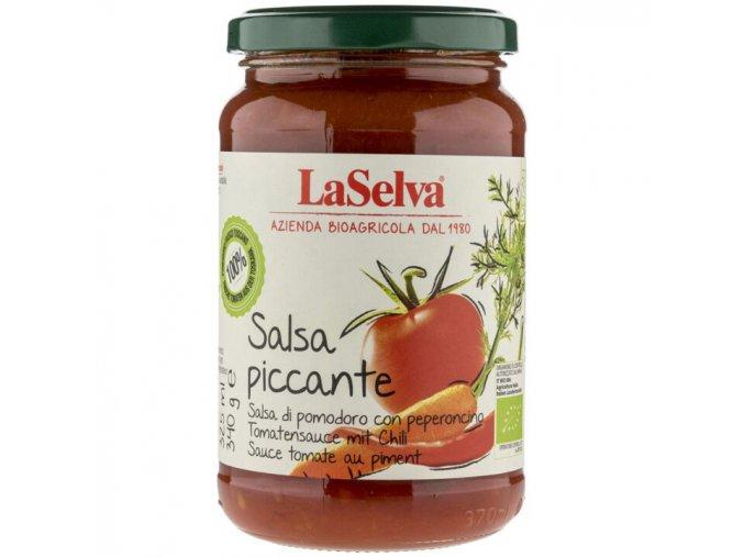 BIO pikantní rajčatová salsa omáčka 340g