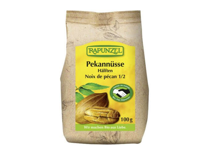 BIO pekanové ořechy půlené 100g