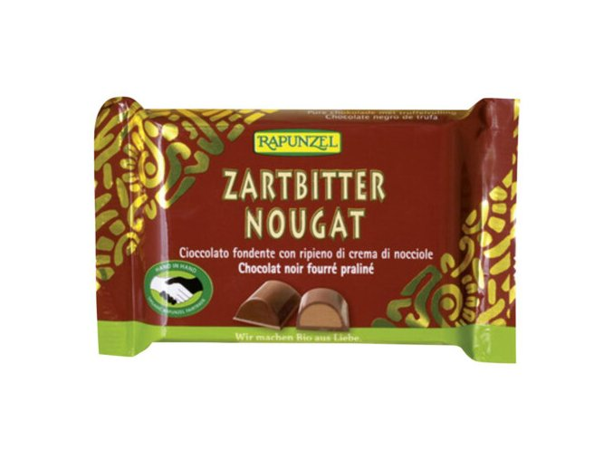 Zartbitter Nougat Schoko 100 g