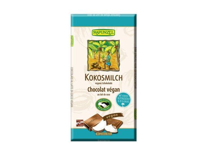 Kokosmilch Schokolade 80 g