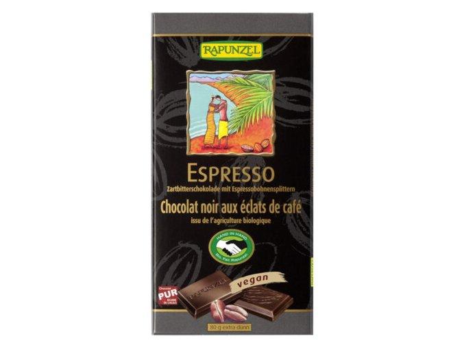 Zartbitter Schoko Espresso Sp. 80 g