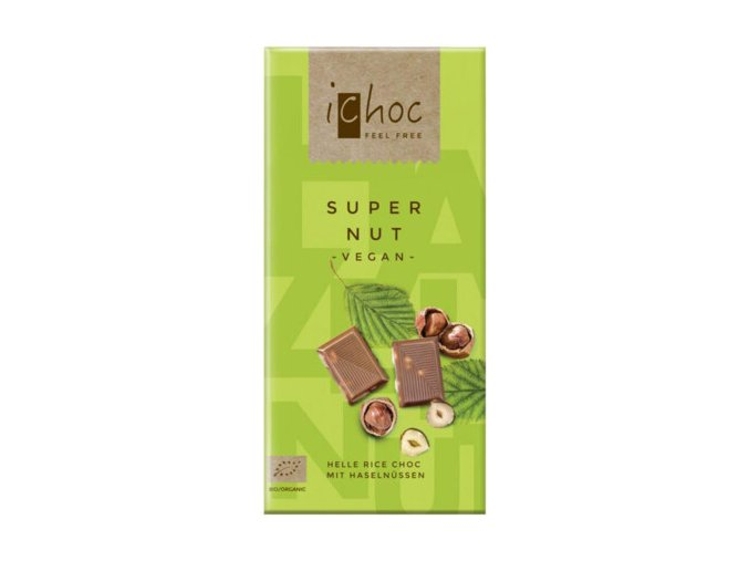 Super Nut helle Rice Choc 80 g