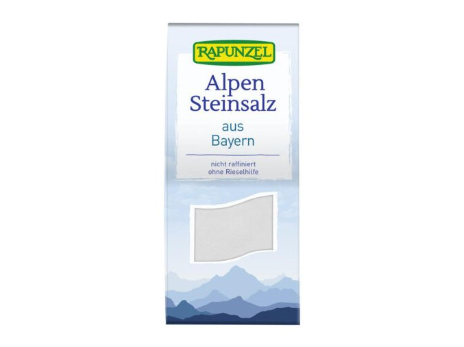 Alpen Steinsalz 500 g