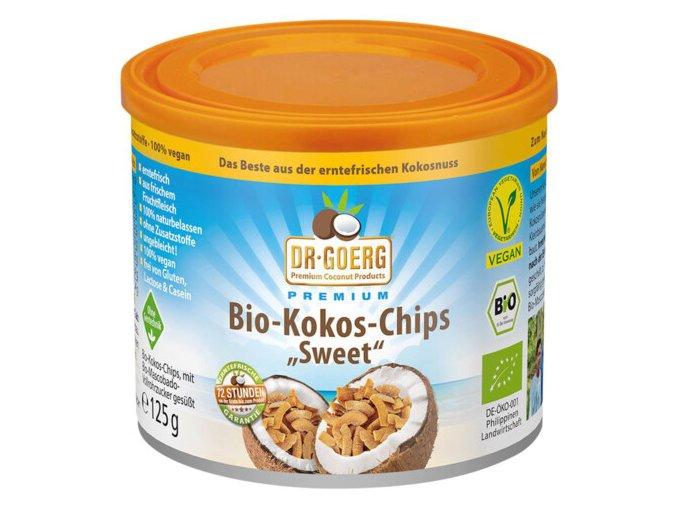 kokosove chipsy goerg 125g