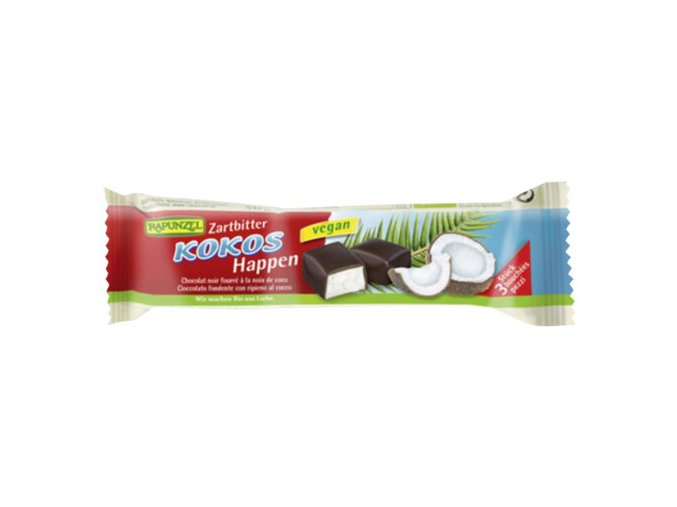 kokos v horke cokolade