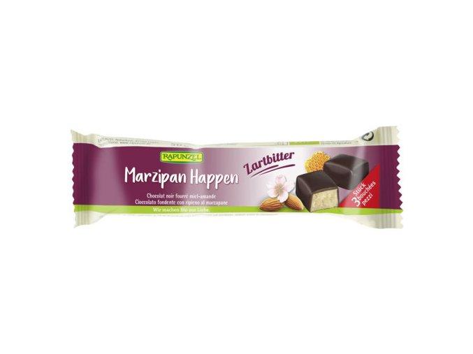 marcipan v horke cokolade