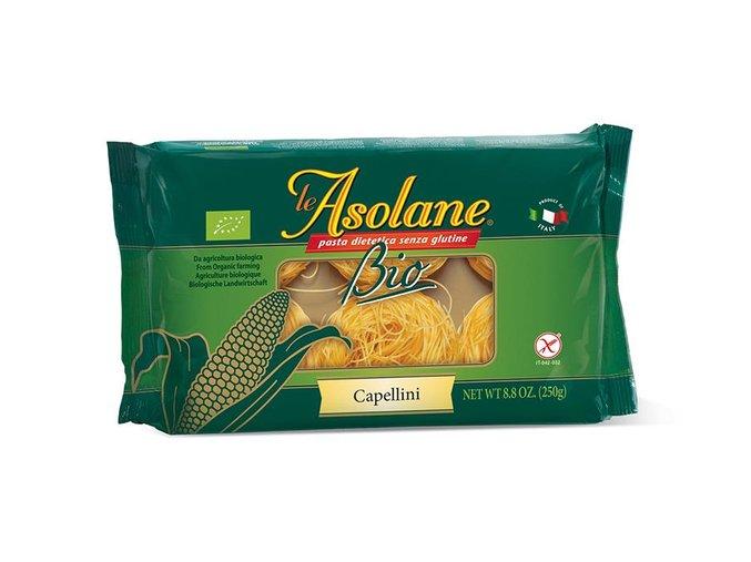 Nudle kukuřičné vlasové (Capellini) 250g LE ASOLANE
