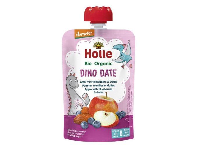 "BIO příkrm ""Dino Date"" jablko s borůvkami a datlemi 100g"