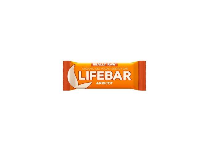 Lifebar meruňková BIO RAW