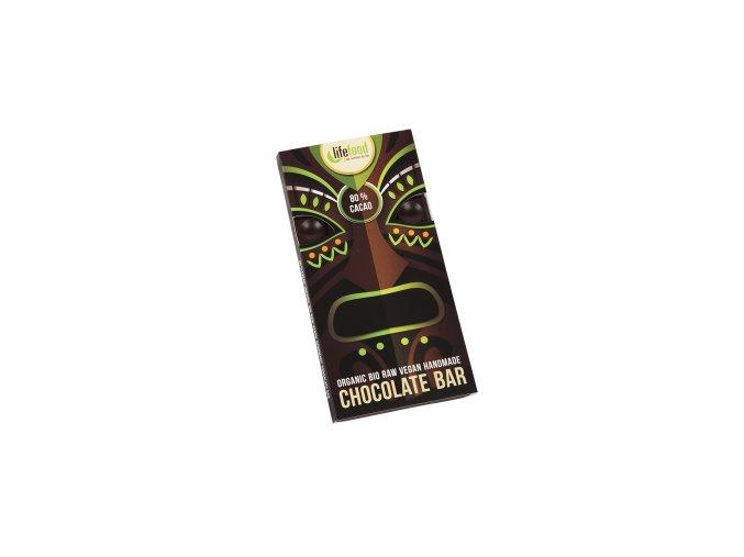 Lifefood čokoláda 80 % kakao BIO RAW 70g