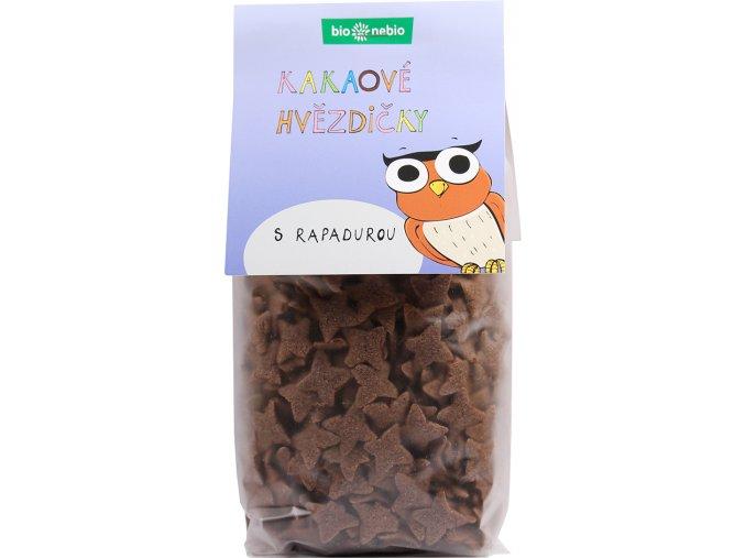 Bio kakaové hvězdičky s Rapadurou