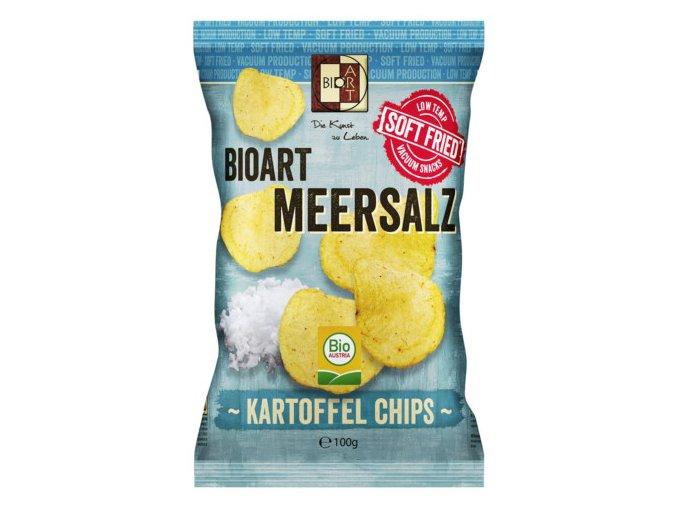 Soft Fried Chips Meersalz 100g