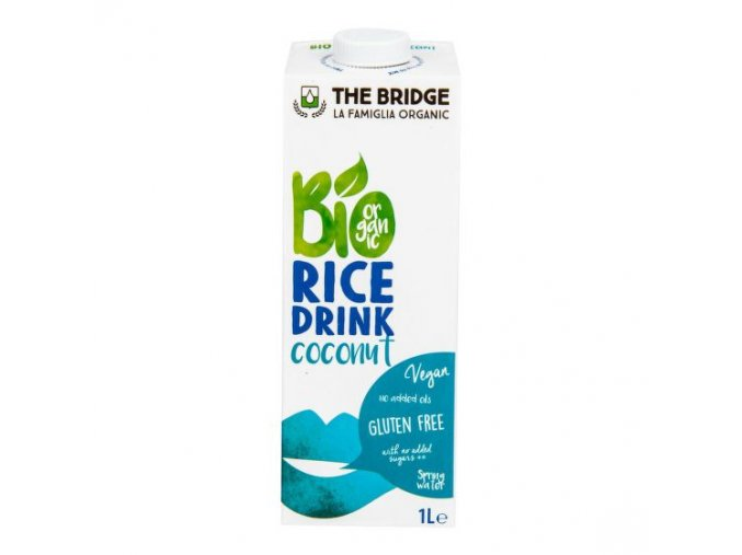 Nápoj rýžovo kokosový 1l BIO THE BRIDGE