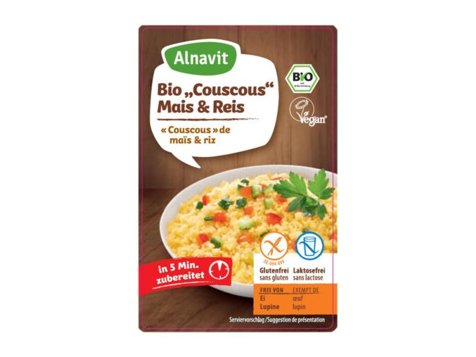 Couscous Mais & Reis 375 g