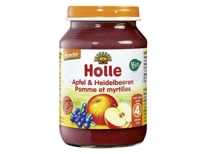 Apfel mit Heidelbeere 5M 190 g