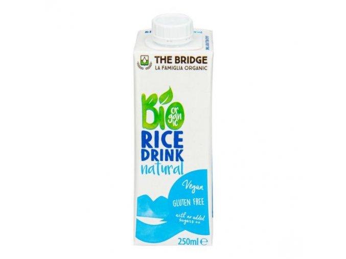 Nápoj rýžový 250 ml BIO THE BRIDGE