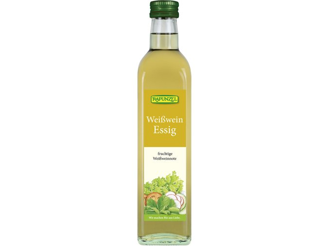 Bio ocet z bílého vína RAPUNZEL 500 ml