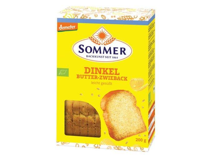 Dinkel Butter Zwieback 200 g