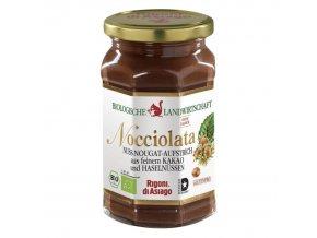 BIO lískooříškový krém s kakaem Nocciolata