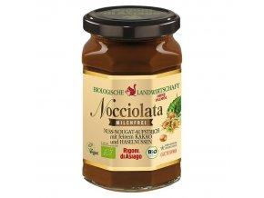 BIO lískooříškový krém s kakaem vegan Nocciolata