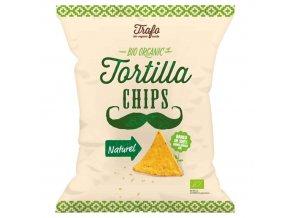 BIO Tortilla chipsy natur 75g
