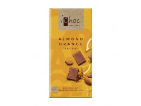Almond Orange Rice Chocolate 80 g