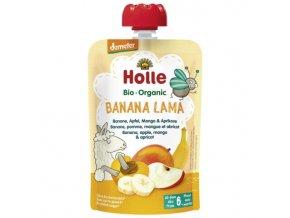 """BIO příkrm ovocný """"Banana lama"""" 100g"""