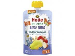 """BIO příkrm ovocný s ovsem """"Blue Bird"""" 100g"""