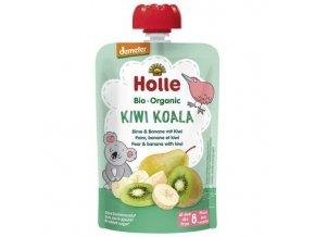 """BIO příkrm ovocný """"Kiwi Koala"""" hruška s banánem a kiwi 100g"""