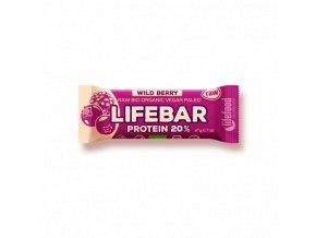Lifebar Protein lesní ovoce BIO RAW