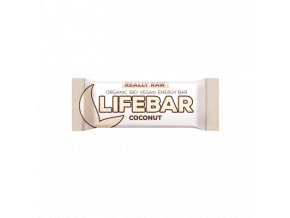 Lifebar kokosová BIO RAW