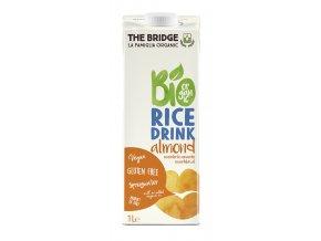 BIO rýžový nápoj mandlový bez lepku 1 l