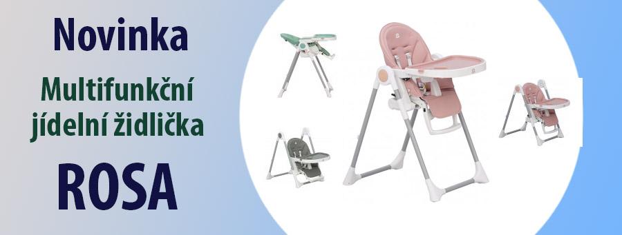 Jídelní židlička Scarlet Rosa