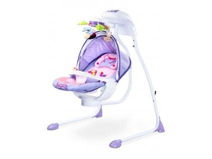 Dětská houpačka CARETERO Bugies purple
