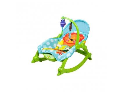 Dětské lehátko 2v1 Bayo green