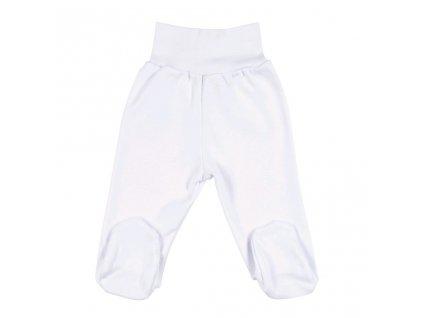 Kojenecké polodupačky New Baby bílé 80