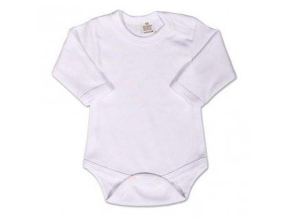 Body dlouhý rukáv New Baby - bílé 62