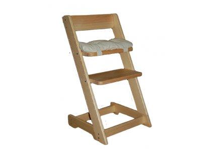 Rostoucí židle VANESSA borovice