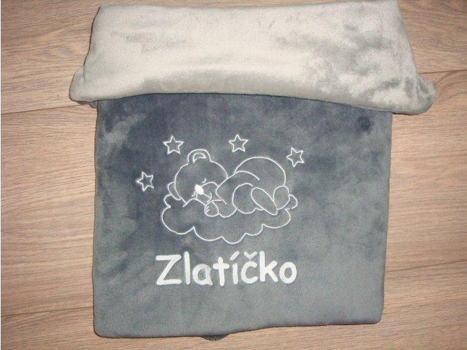 Dvouvrstvá deka se jménem na přání