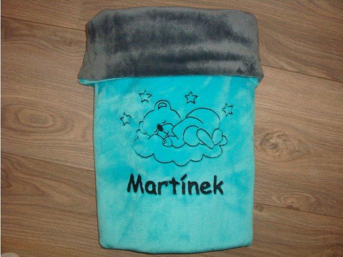 Dětská deka s výšivkou na přání-více barev