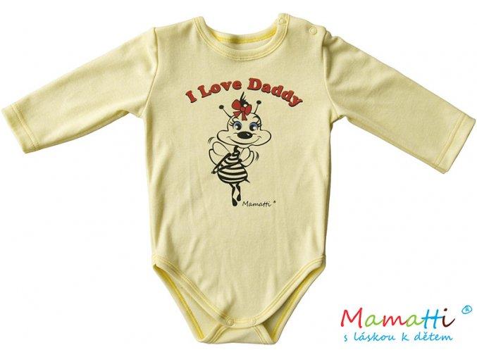 Body MAMATTI - I love Daddy vel.56