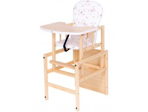 Borovicová židlička Drewex Antonín přírodní