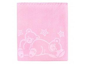Dětská deka Womar 90x80 růžová